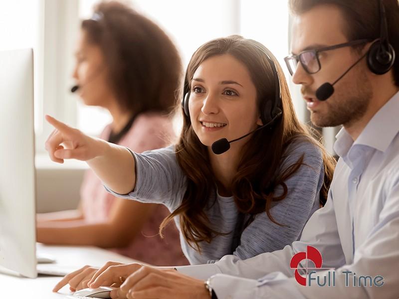 Serviço de telemarketing