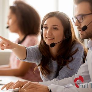 Empresa com serviço de telemarketing